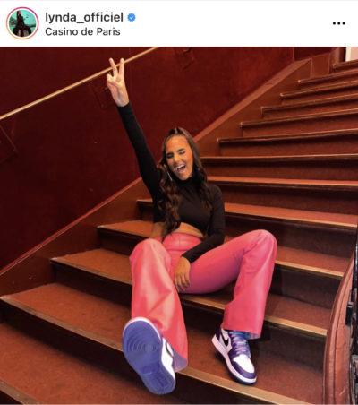 Lynda Sherazade - Jordan I Court Purple