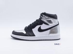 Air Jordan 1 Silver Toe